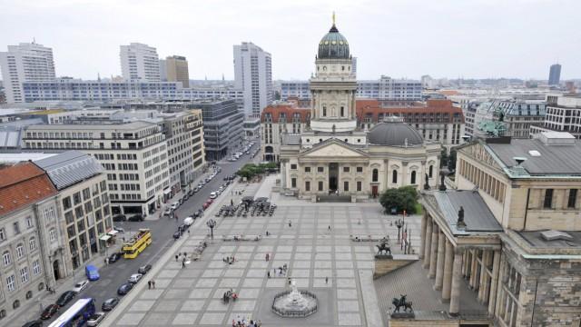 GERMANY-TOURISM-GENDARMEN MARKT-VIEW