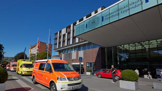 Ebola-Patient in Hamburg