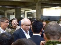 Volker Kauder  in Erbil