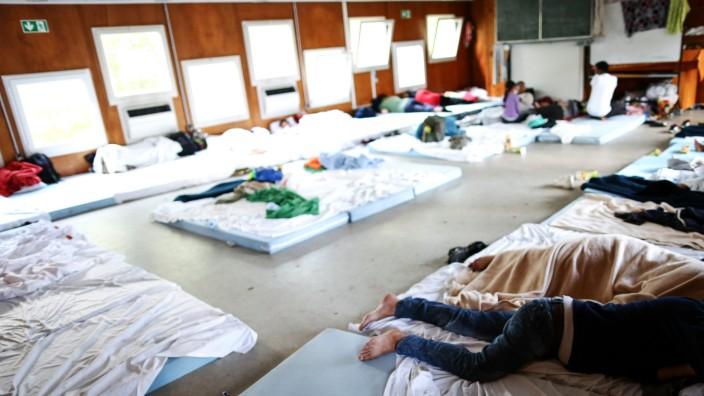 Aufnahmestelle für Flüchtlinge Zirndorf