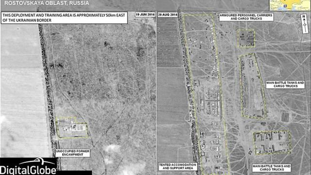Ukraine im Umbruch Nato-Beweise für Truppenbewegungen
