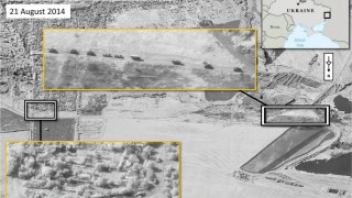 NATO releases satellite imagery that they say shows Russian comba