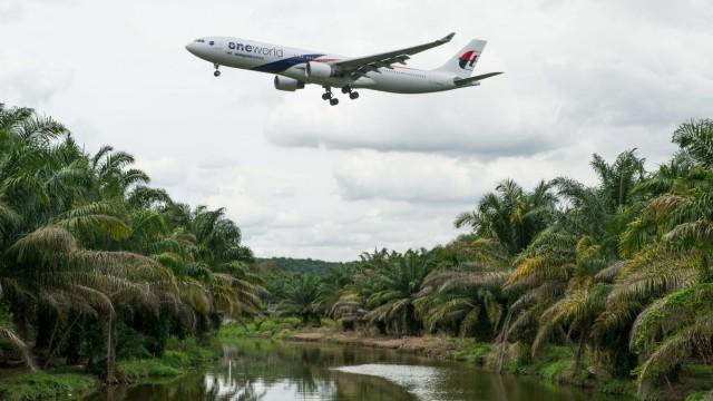 Malaysia Airlines Fluggesellschaft in Schwierigkeiten