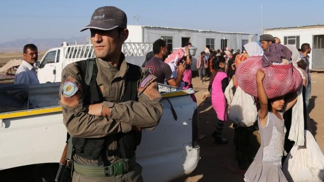 Landkreis Jesiden und Kurden im Irak