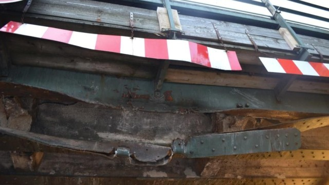 Münchner S-Bahn Unfall in Moosach