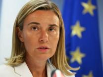Mogherini EU Außenbeauftragte