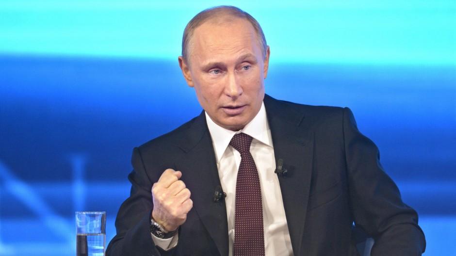 Wladimir Putin Russland Ukraine