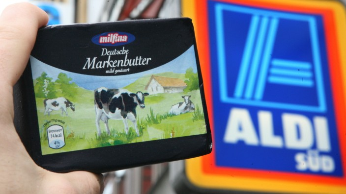Aldi macht Butter billiger