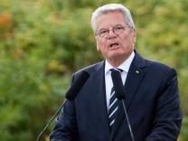 Gauck am 75. Jahrestag des Beginns des Zweiten Weltkriegs