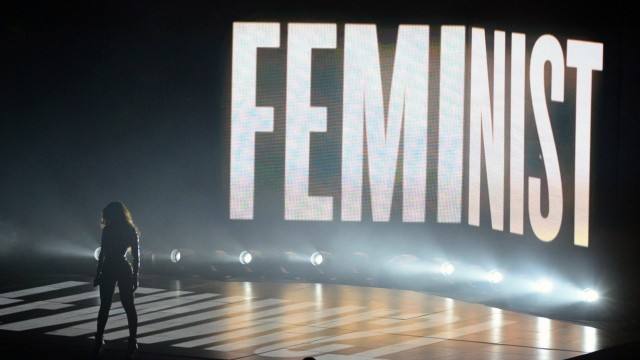 Beyonce preforms at the 2014 MTV Video Music Awards at the Forum in Inglewood California on August