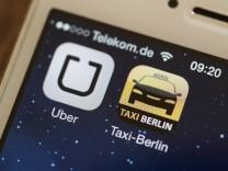 Landgericht Frankfurt stoppt Fahrdienst Uber bundesweit
