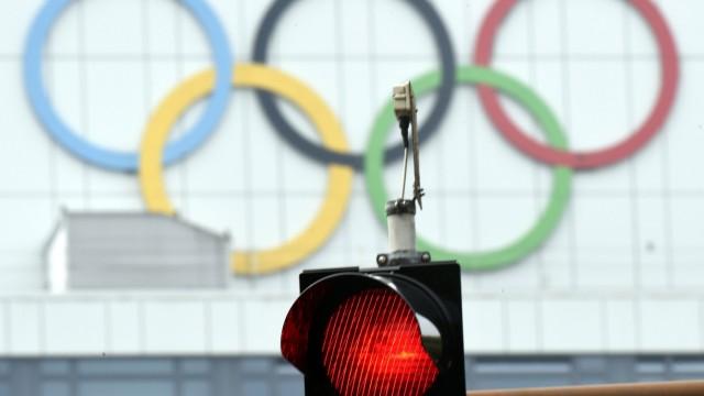 Olympische Ringe in Kiel