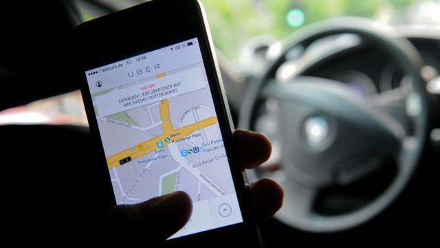 Uber Einstweilige Verfügung gegen Fahrdienst