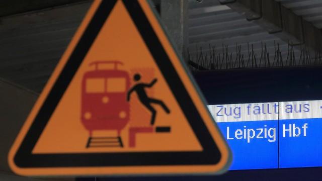 Warnstreik der Lokführer