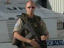 Daniel Soudek, UN-Soldat, von April bis Juli 2014 auf den Golanhöhen im Einsatz