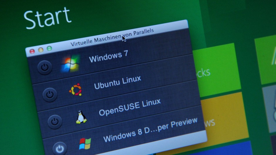 Auch Windows fühlt sich auf dem Mac zu Hause