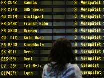 Verspätungen und Flugausfälle