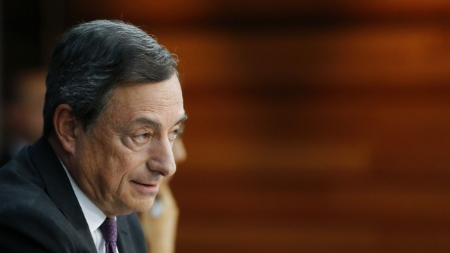 Mario Draghi EZB-Chef in der Euro-Krise