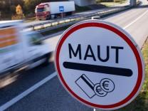 Diskussion um Autobahn-Maut