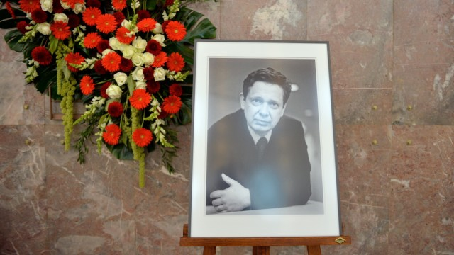 Frank Schirrmacher Service Of Commemoration