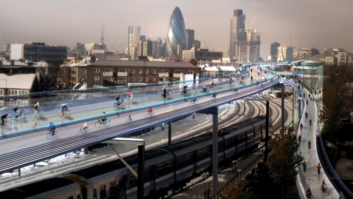 SkyCycle London - Modell