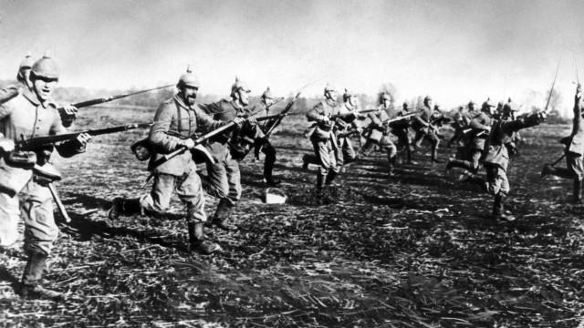 Deutscher Sturm an der Westfront, 1914