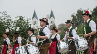 Volksfest eröffnung