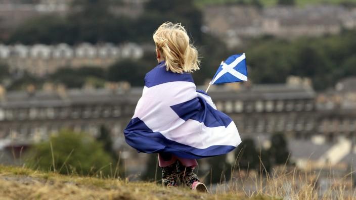 Vor dem Schottland-Referendum am 18. September