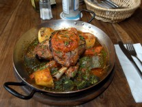 Türkische Fleischpfanne.
