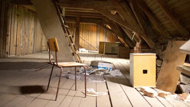Fußboden Im Dachgeschoss ~ Dachgeschoss ausbau mit hindernissen geld süddeutsche