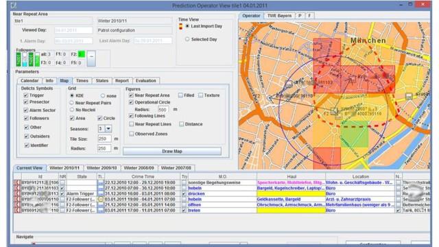"360° Predictive Policing Ermitteln mit ""Predictive Policing""-Algorithmen"