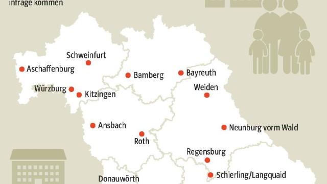 Asylpolitik Asylbewerber in Bayern