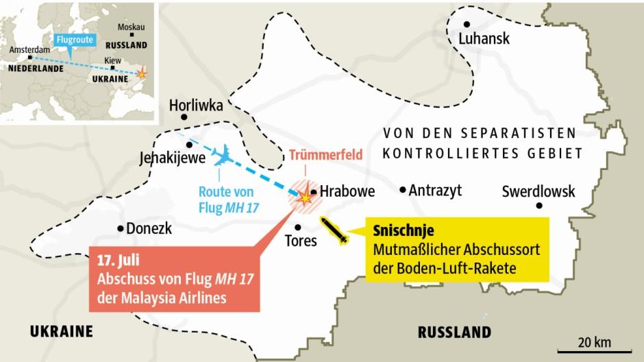 Thema des Tages Russland und Flug MH17