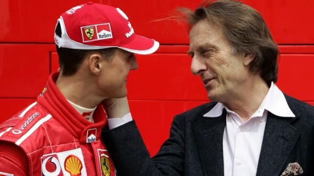 Luca di Montezemolo und Michael Schumacher