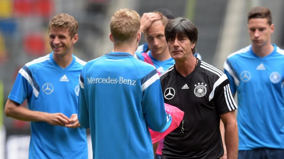 Training Fußball-Nationalmannschaft