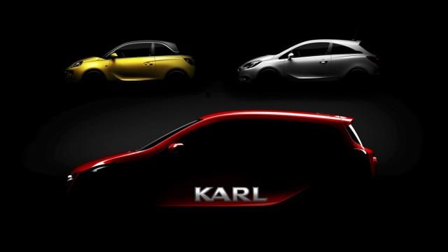 Der Opel Karl, das neue Einstiegsmodell des Autoherstellers.