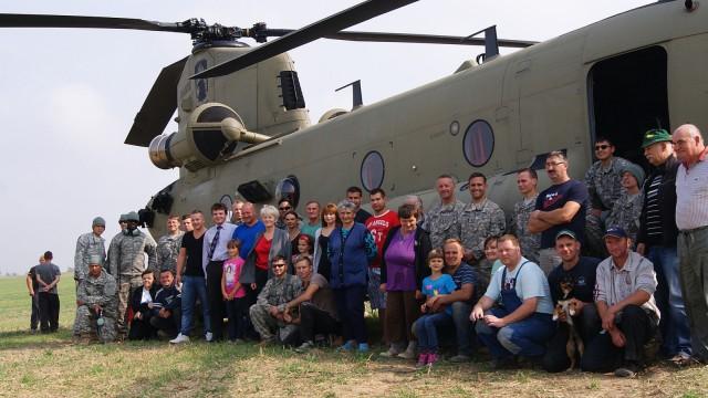 US-Armee US-Hubschrauber in Polen