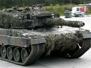 Panzer vom Typ Leopard, dpa