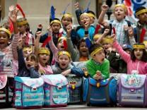 Schulranzen für bedürftige Kinder