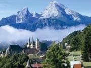 Reisen in Deutschland Bayern Berchtesgaden Watzmann Königssee, dpa