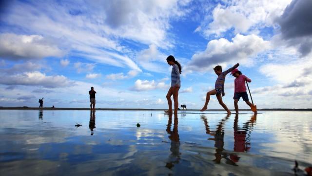Kein Strandwetter an der Ostsee