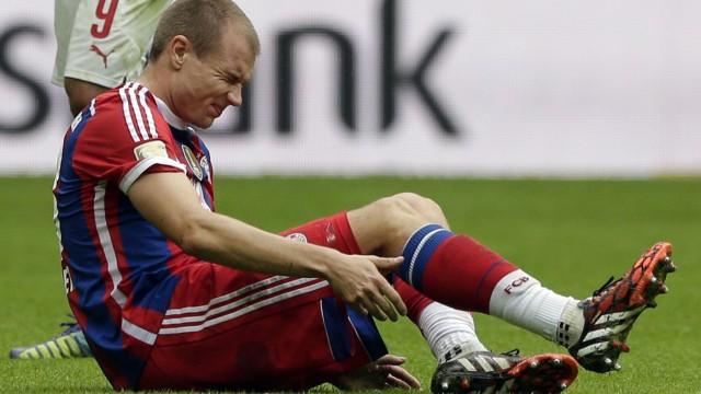 Bundesliga Riss des Oberschenkelmuskels