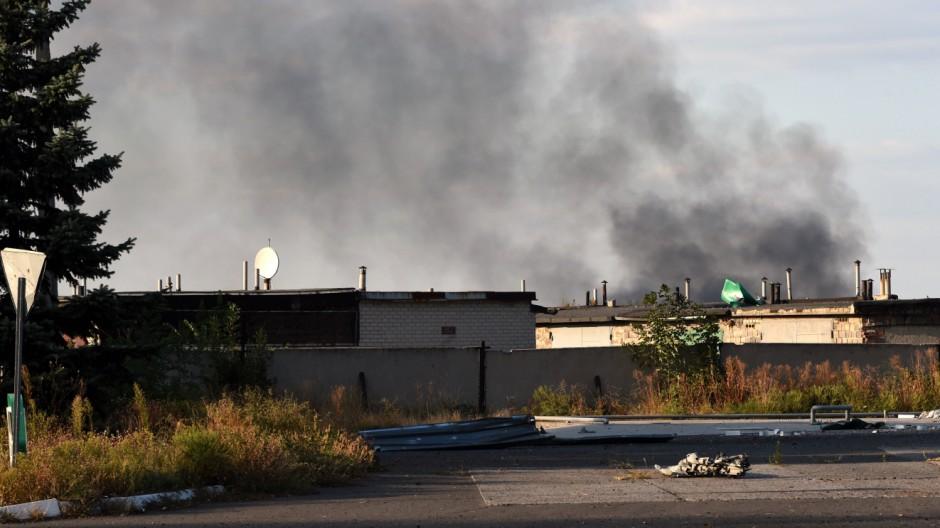 Krieg in der Ukraine Ostukraine