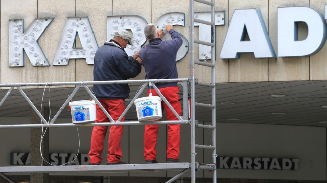 Sorgen um Karstadt-Zukunft