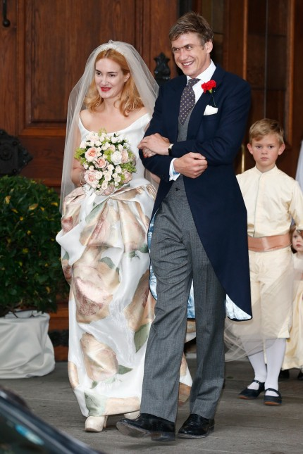 Wedding Of Maria Theresia Princess von Thurn und Taxis And Hugo Wilson