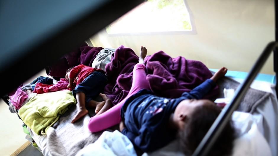 Flüchtlingskinder in Deutschland