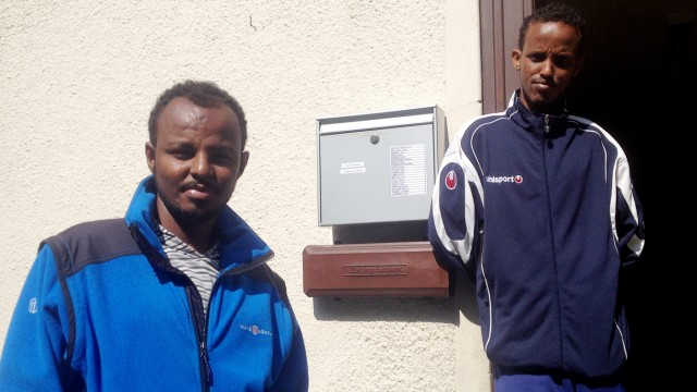 Asylbewerber Asylbewerber im bayerischen Bad Hindelang