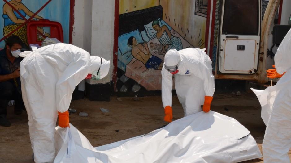 Ebola Epidemie in Westafrika
