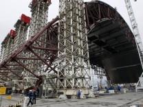 Baustopp für Tschernobyl-Schutzhülle droht