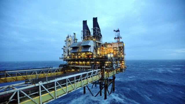 Schottland Öl Plattform Unabhängigkeit Bohrinsel Referendeum